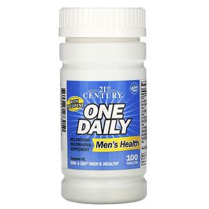 21 Сенчури, One Daily, Men's Health, 100 Tablets отзывы покупателей