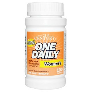 21st Century, One Daily, Women's, 100 Tablets