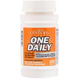 Отзывы о 21st Century, One Daily, для женщин 50+, мультивитамины и мультиминералы, 100 таблеток