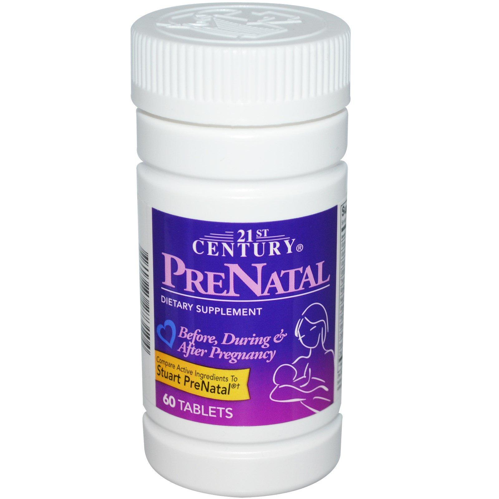 21st Century, Пренатальная добавка, 60 таблеток