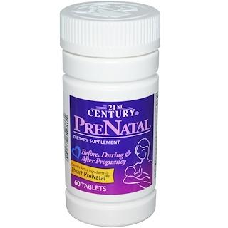 21st Century, PreNatal, 60 Tablets