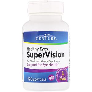 21 Сенчури, Healthy Eyes SuperVision, 120 Softgels отзывы