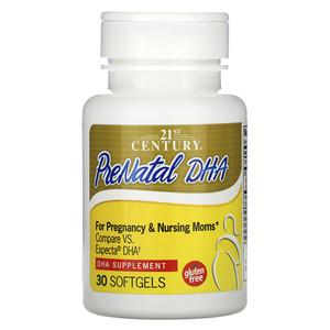 21 Сенчури, PreNatal DHA, 30 Softgels отзывы