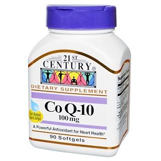 21st Century, Co Q-10, 100 mg, 90 Softgels