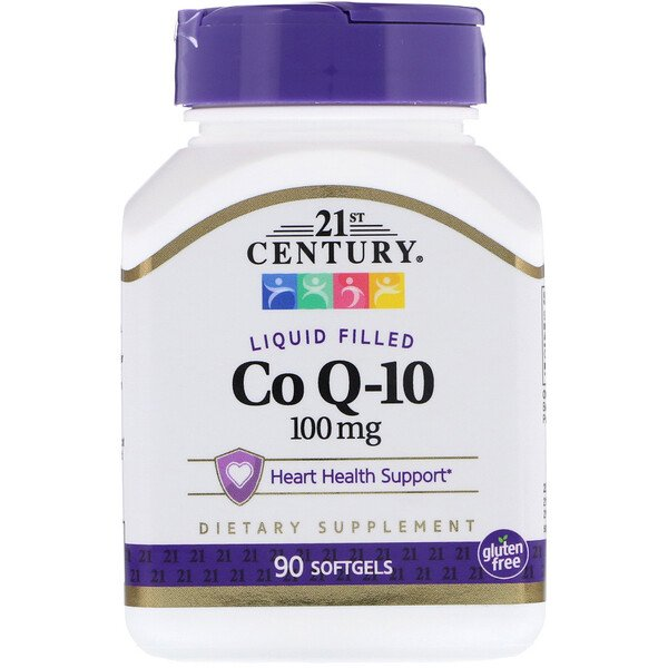 21st Century, Liquid Filled Co Q-10, 100 mg, 90 Softgels