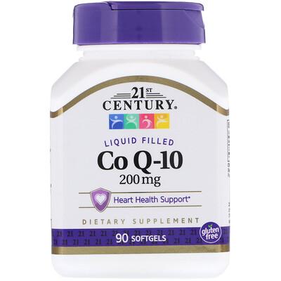 Купить Коэнзим Q-10, 200 мг, 90 гелевых капсул