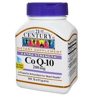 21st Century, Co Q-10, 200 mg, 90 Softgels