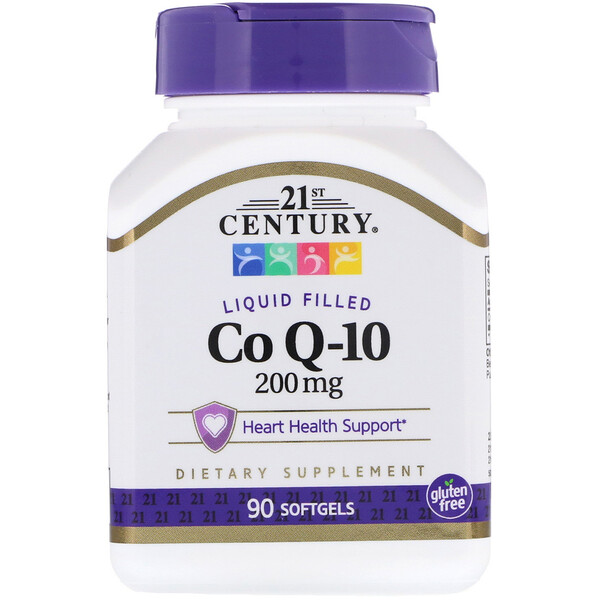 Co Q-10, 200 mg, 90 cápsulas gelatinosas