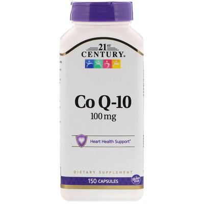 21st Century 輔酶Q10膠囊, 100 毫克, 150粒