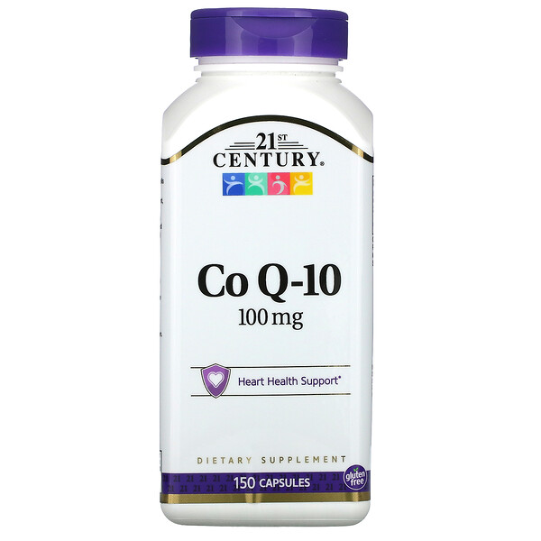 CoQ10, 100mg, 150capsules