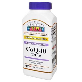21st Century, Co Q-10, 200 mg, 120 Capsules