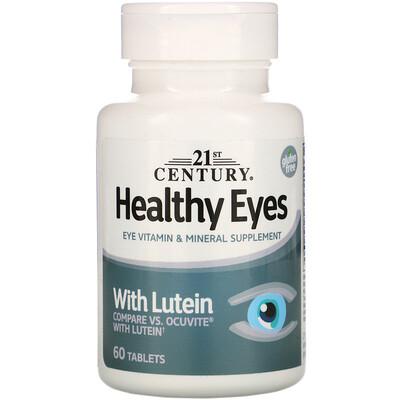 21st Century Healthy Eyes (здоровые глаза) с лютеином, 60 таблеток