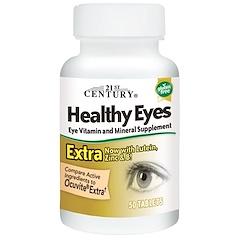 21st Century, Healthy Eyes(здоровые глаза) экстра, 50 таблеток