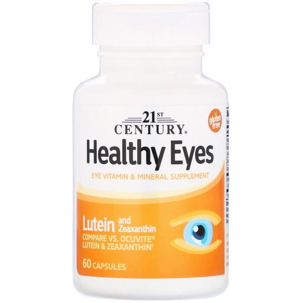 Healthy Eyes, Lutein & Zeaxanthin, 60 Capsules