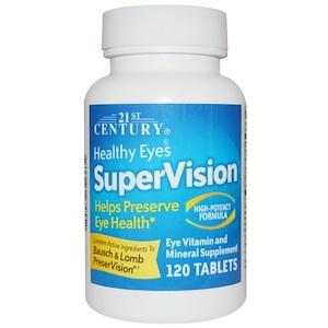 21st Century, SuperVision, высокоэффективная формула, 120 таблеток