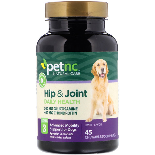 Hip & Joint, Level 3, Liver Flavor, 45 Chewables