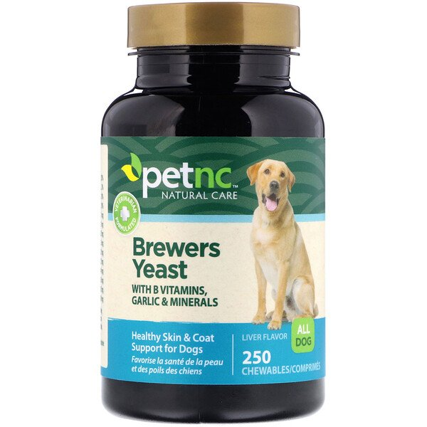 Brewers Yeast, Liver Flavor, 250 Chewables