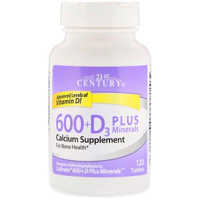Купить 600+D3 плюс минералы, 120 таблеток