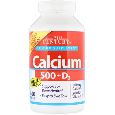 кальций 500 + D3, 400 таблеток