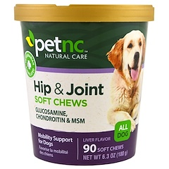 21st Century, Pet Natural Care, Hip & Joint, Liver Flavor, All Dog, 90 Soft Chews