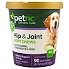 petnc NATURAL CARE, Hip & Joint, Liver Flavor, All Dog, 90 Soft Chews