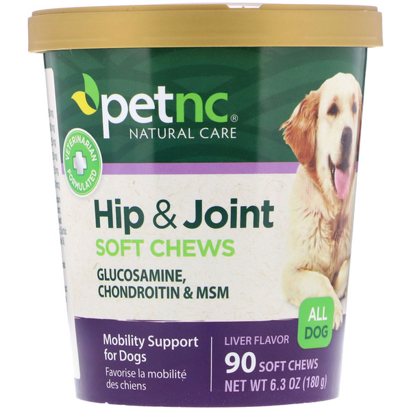 Hip & Joint, All Dog, Liver Flavor, 90 Soft Chews
