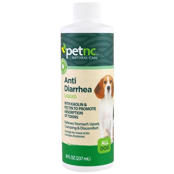 petnc NATURAL CARE, Anti Diarrhea Liquid, All Dog, 8 fl oz (237 ml)