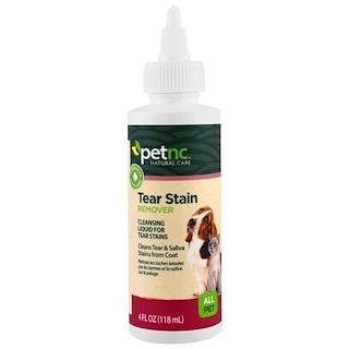 petnc NATURAL CARE, Натуральные средства для ухода за домашними питомцами, средство от темных пятен от слез, для любых животных, 4 жидкие унции (118 мл)