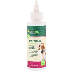 petnc NATURAL CARE, Tear Stain Remover, All Pet, 4 fl oz (118 ml) отзывы