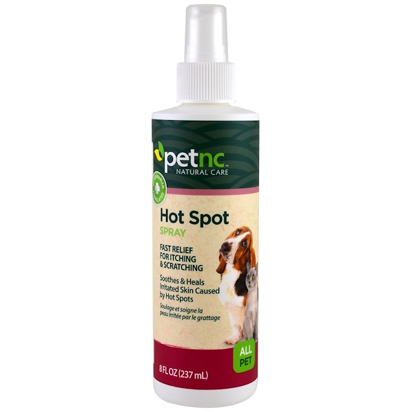 21st Century, Pet Natural Care, Hot Spot Spray, All Pet, 8 fl oz (237 ml)