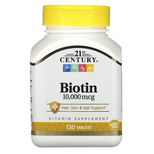 Biotina, 10.000mcg, 120comprimidos