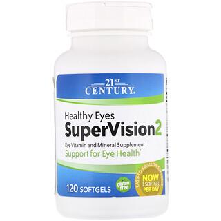 21st Century, Ojos sanos SuperVisión2, 120 Cápsulas