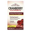 21st Century, Probiótico Cranberry Plus, 60 Comprimidos