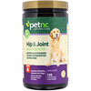 petnc NATURAL CARE, Hip & Joint Health, Level 4, Liver Flavor, 150 Chewables