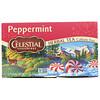 Celestial Seasonings, Herbal Tea, Peppermint, Caffeine Free, 20 Tea Bags, 1.1 oz (32 g)