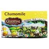 Celestial Seasonings, травяной чай, ромашка, без кофеина, 20чайных пакетиков, 25г (0,9унции)