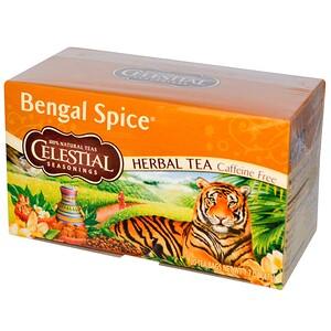 Селесчал Сизонингс, Herbal Tea, Bengal Spice, Caffeine Free, 20 Tea Bags, 1.7 oz (47 g) отзывы покупателей