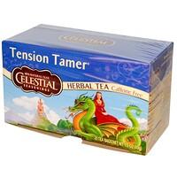 Травяной чай, устранение напряжения, без кофеина, 20 чайных пакетиков, 1.5 унций (43 г) - фото