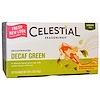 Celestial Seasonings, Green Tea, Decaffeinated Decaf Green, 20 Tea Bags, 1.3 oz (36 g)