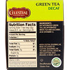 Celestial Seasonings, Green Tea, Decaf, 20 Tea Bags, 1.3 oz (36 g)