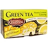 Celestial Seasonings, Green Tea, Honey Lemon Ginseng, 20 Tea Bags, 1.5 oz (42 g)