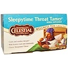 Celestial Seasonings, Sleepytime Throat Tamer, Wellness Tea, 20 Tea Bags, 1.2 oz (34 g)