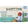 Celestial Seasonings, Sleepytime Throat Tamer, Wellness Tea, 20 Tea Bags (8 fl oz) Each