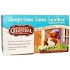 Celestial Seasonings, Sleepytime Sinus Soother, Wellness Tea, Caffeine Free, 20 Tea Bags, 1.2 oz (35 g)
