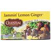 Celestial Seasonings, Herbal Tea, Jammin' Lemon Ginger, Caffeine Free,  20 Tea Bags, 1.6 oz (45 g)