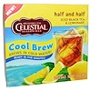 Celestial Seasonings, Half and Half Cool Brew, アイス紅茶&レモネード, 40ティーバッグ, 85 g