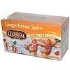 Celestial Seasonings, Holiday Herbal Tea, Gingerbread Spice, Caffeine Free, 20 Tea Bags, 2.2 oz (61 g) (Discontinued Item)