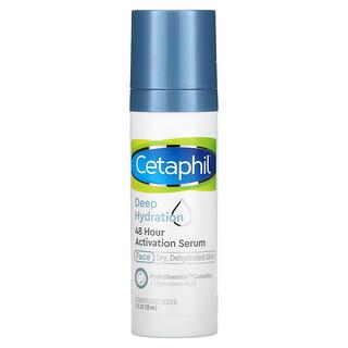 Cetaphil, 48 小時煥膚精華,深層補水,1 液量盎司(30 毫升)