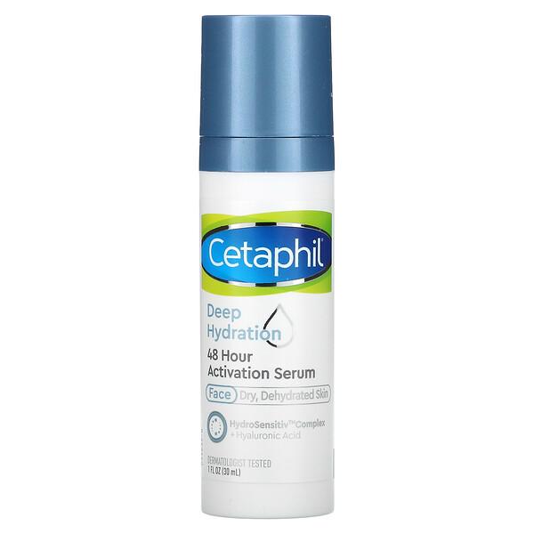 Cetaphil, 48 Hour Activation Serum, Deep Hydration, 1 fl oz (30 ml)