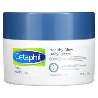 Cetaphil, Healthy Glow Daily Cream, Deep Hydration, 1.7 oz (48 g)